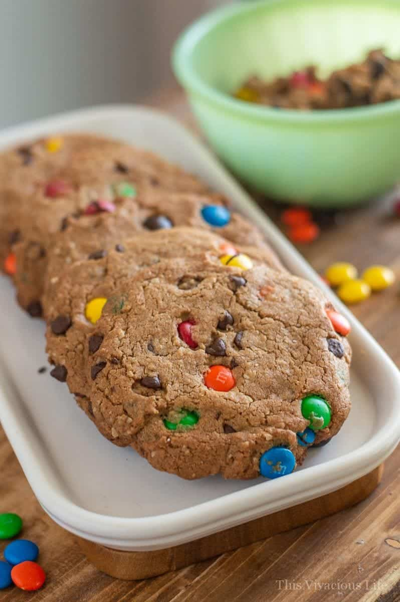 Gluten-Free Monster Cookies (Easy)