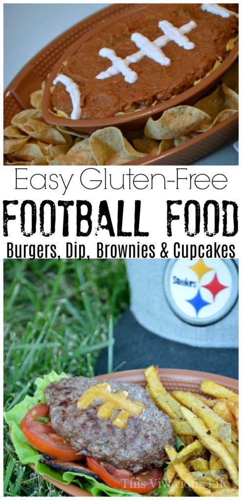 gluten free football themed food