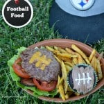 Football Food: Brownies & Burgers