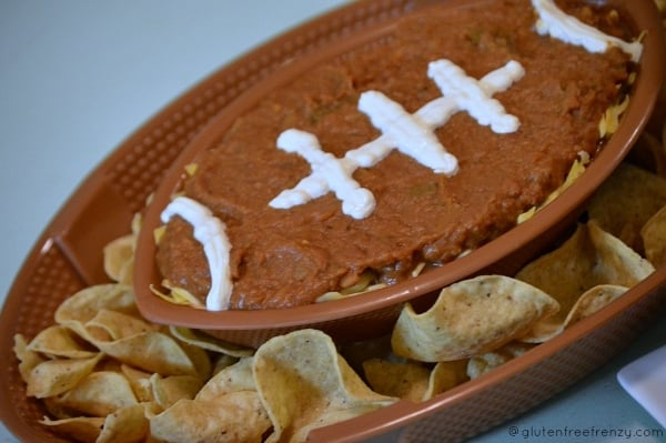 Football Food: Bean Dip