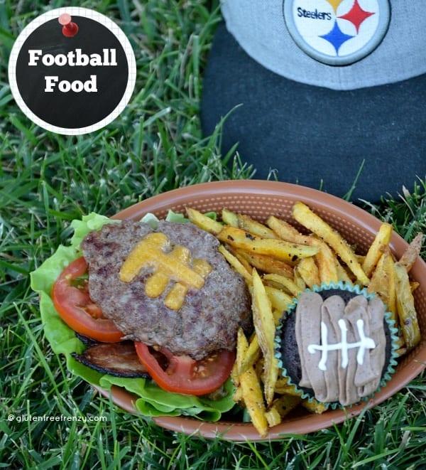 Football Food: Burgers, Dip, Brownies & Cupcakes [Gluten-Free] PLUS a Glutino Giveaway