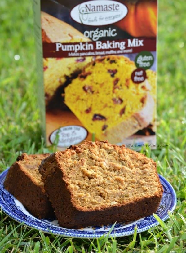 Gluten-Free Pepita Pumpkin Bread (Namaste)
