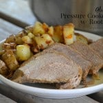 Gluten-Free Pressure Cooker Roast w/ Root Veggies PLUS a T-fal 7-in-1 Cooker & Fryer Giveaway