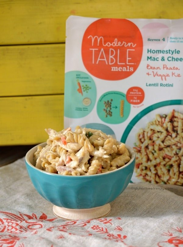 Modern Table Meals Gluten-Free Pasta (& Giveaway)