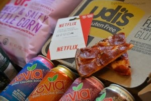Udi's Gluten-Free Pizza Hut Review & Netflix Night In