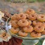 Pumpkin Spice Donuts Gluten-Free