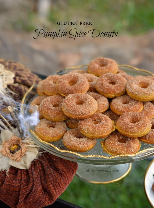 Gluten-Free Pumpkin Spice Donuts | gluten-free pumpkin spice recipes | gluten-free donut recipes | gluten-free fall recipes | gluten-free desserts | pumpkin spice recipe ideas | homemade gluten-free recipes || This Vivacious Life
