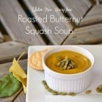 This whole30 paleo roasted butternut squash soup will warm your belly and leave your tastebuds satisfied. Easy to prepare. Gluten-free and dairy-free.