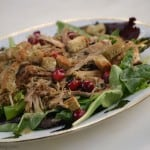 This gluten-free, dairy-free Thanksgiving Leftover Salad is easy and delicious.