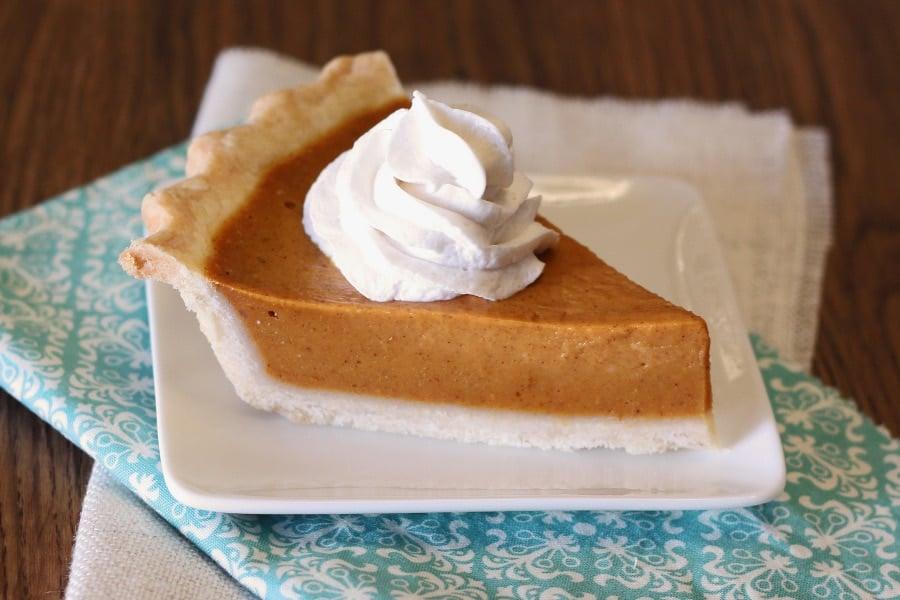 Vegan, Gluten Free Classic Pumpkin Pie