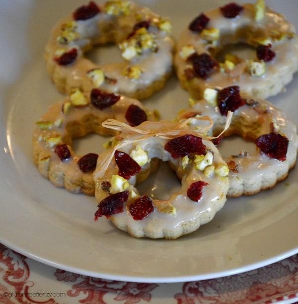 Christmas Wreath Cookies {Gluten-Free}