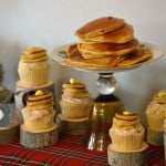 Flapjacks Cupcakes display {Gluten-Free}