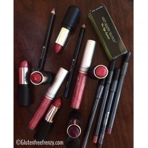 25 Days of Gluten-Free Giveaways™- Red Apple Lipstick