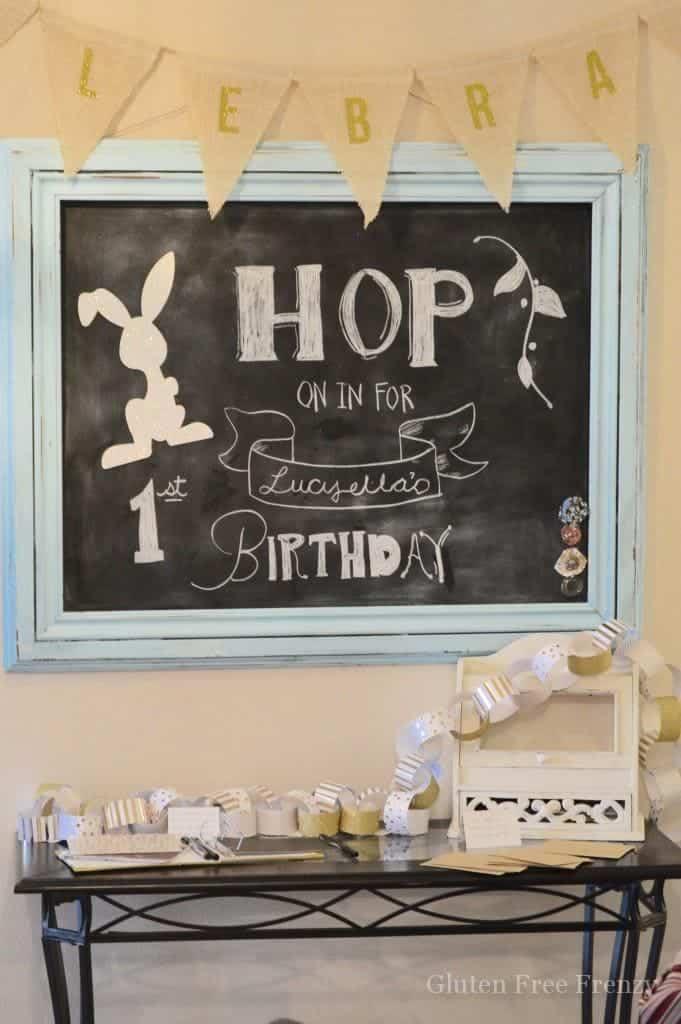 Chubby Bunny 1st Birthday Party This Vivacious Life