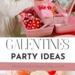 GALENTINES party pin
