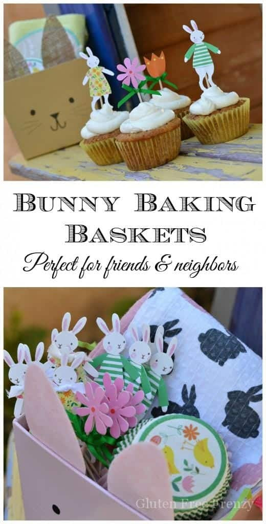 Easter bunny baking baskets this diy easter baking basket couldnt be easier easter gift ideas negle Image collections