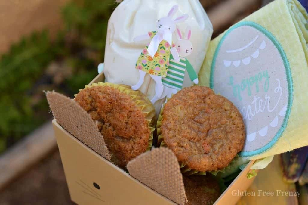 Easter bunny baking baskets easter gift ideas this diy easter baking basket couldnt be easier most of the items are negle Images