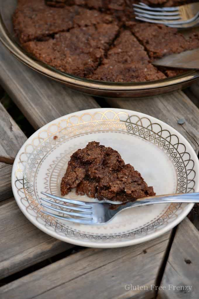 ... gluten-free, grain-free chocolate chip cookie mix like we used for a
