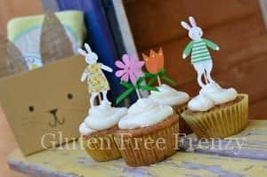 Easter Bunny Baking Baskets PLUS Pretzel Bunny Bark Recipe