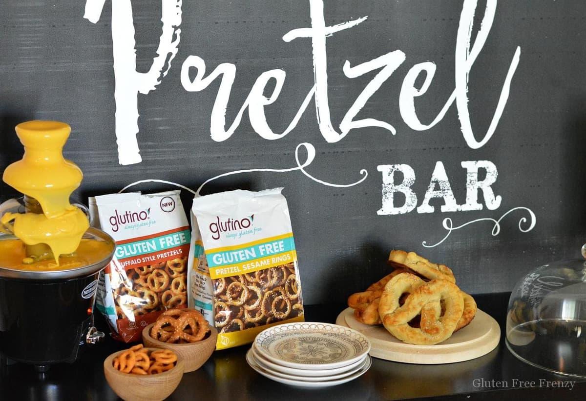 pretzel bar party gluten free and fun recipe included