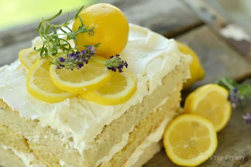 Cake With Honey Frosting