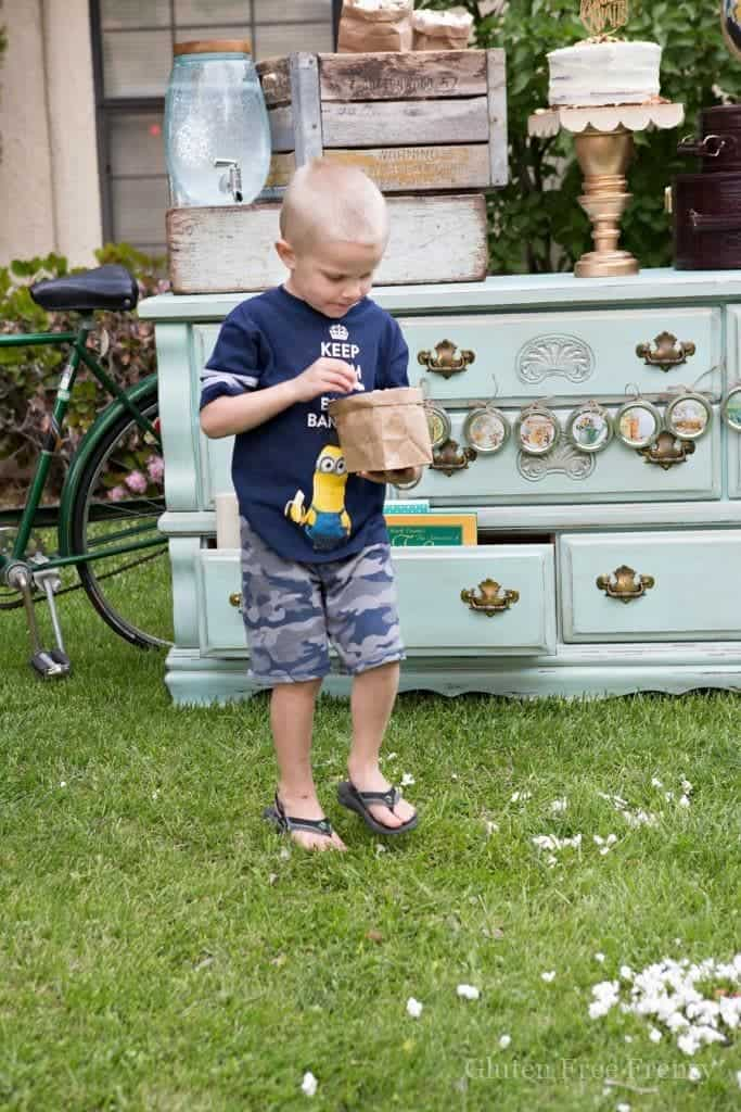 This little library adventure awaits party is a great way to promote literacy in your neighborhood.   diy party ideas   book party ideas   hosting a neighborhood party   summer party ideas    This Vivacious Life #reading #summerparty #littlelibrary #neighborhoodlibrary #diyparty #thisvivaciouslife