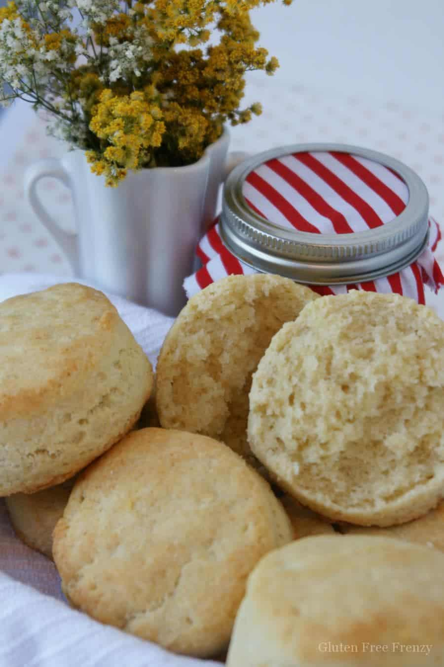 Gluten-free buttermilk biscuits so light and fluffy you will won't believe it! Live gluten-free on a budget and with full flavor thanks to this new cookbook.