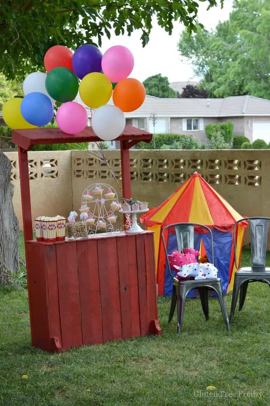 Whimsical Circus Party Freetobe This Vivacious Life