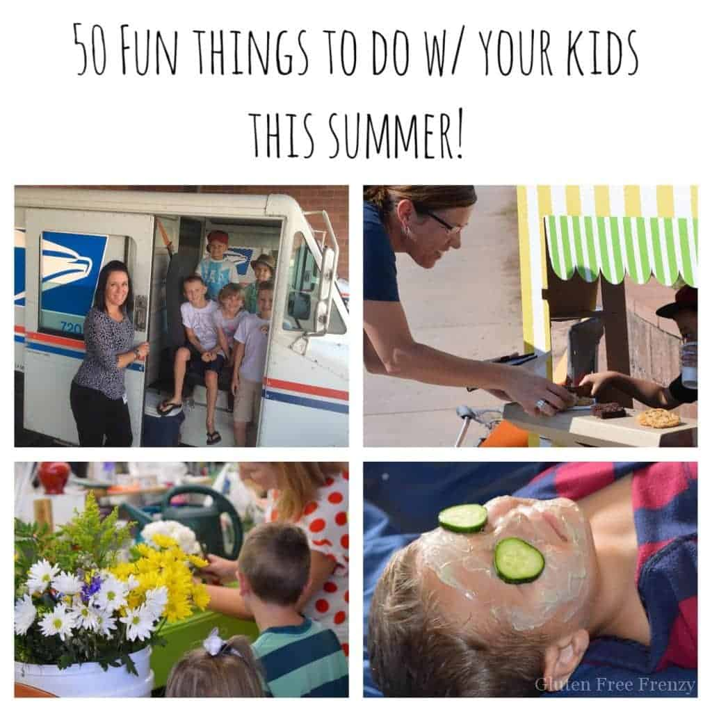 FREE summer fun checklist to print and fill in just as you and your family would like. Plus, 50+ ideas on fun things to do with the kids this summer. Score!