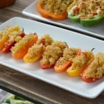 Quinoa stuffed peppers- How fun is this summer block party?! It is so easy to create one of your own. The DIY giant yard yahtzee looks so fun and the BYOB (build your own burrito bowl) bar looks scrumptious! With easy party ideas like watermelon eating contest, watermelon on a stick for easy eating and healthy yet delicious party food, you have everything you need to throw a fantastic backyard bash!