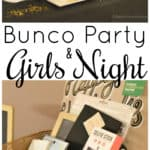 This bunco party girls night is sure to be a blast for all who attend.