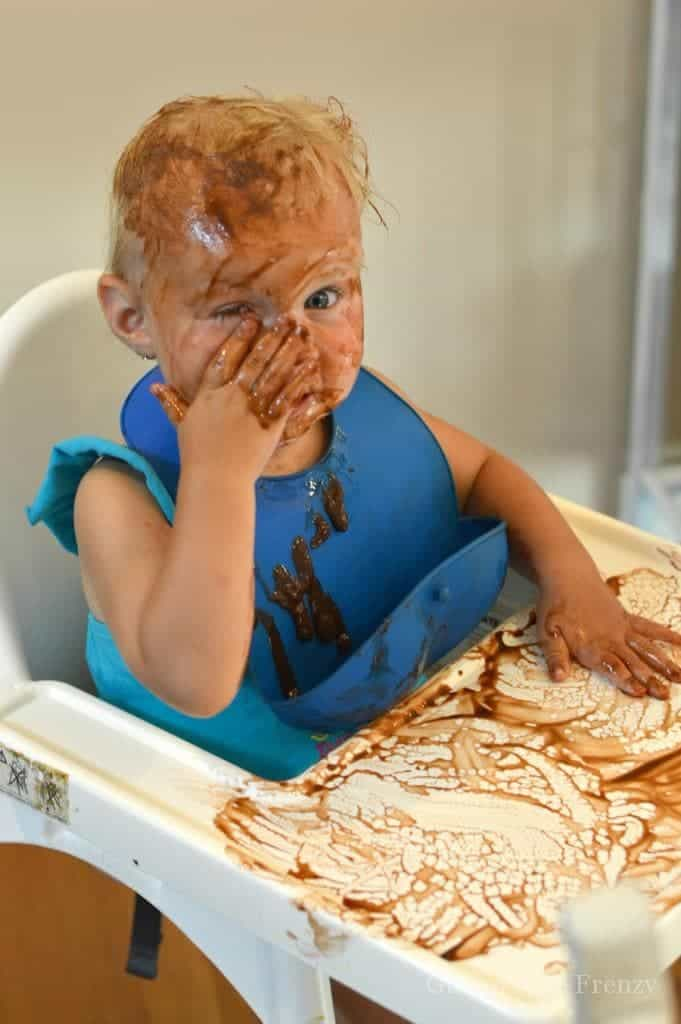 Homemade pudding is so tasty that you will never go back to instant boxed! Take that tasty recipe and have fun with the kids doing pudding painting. They will love it! glutenfreefrenzy.com