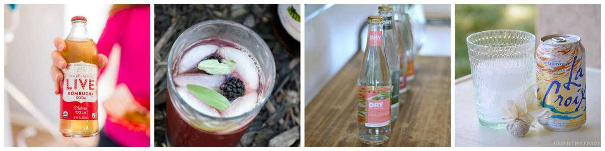 Yummy ways to sip this summer! Mocktails that the whole family can enjoy. glutenfreefrenzy.com