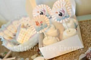 Mermaid Baby Shower & DIY Diaper Cupcakes