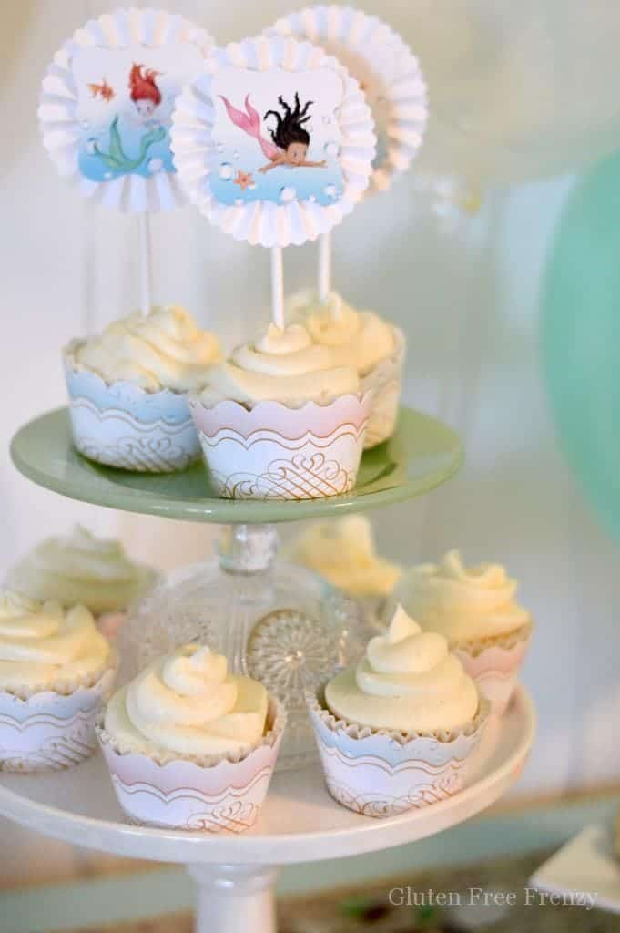 So Great For Little Girls This Mermaid Themed Baby Shower Couldnu0027t Be  Cuter! So Great For Little Girls ...