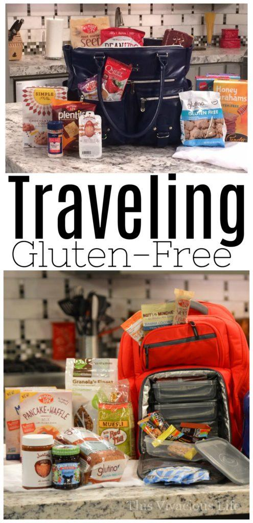 We are showing you more about traveling gluten-free and how to do it with ease.