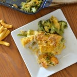 Yum! This broccoli and cheese stuffed crispy chicken breast is easy to prepare and super tasty. The whole family will love this one dish dinner. glutenfreefrenzy.com