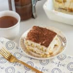 This no coffee gluten-free tiramisu has quickly become one of my favorite desserts. It is surprisingly simple to prepare and takes on most of it's flavor while soaking in the refrigerator.