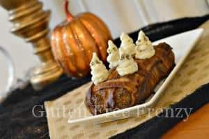 Bacon Wrapped Meatloaf (Gluten-Free) with Ghost Mashed Potatoes