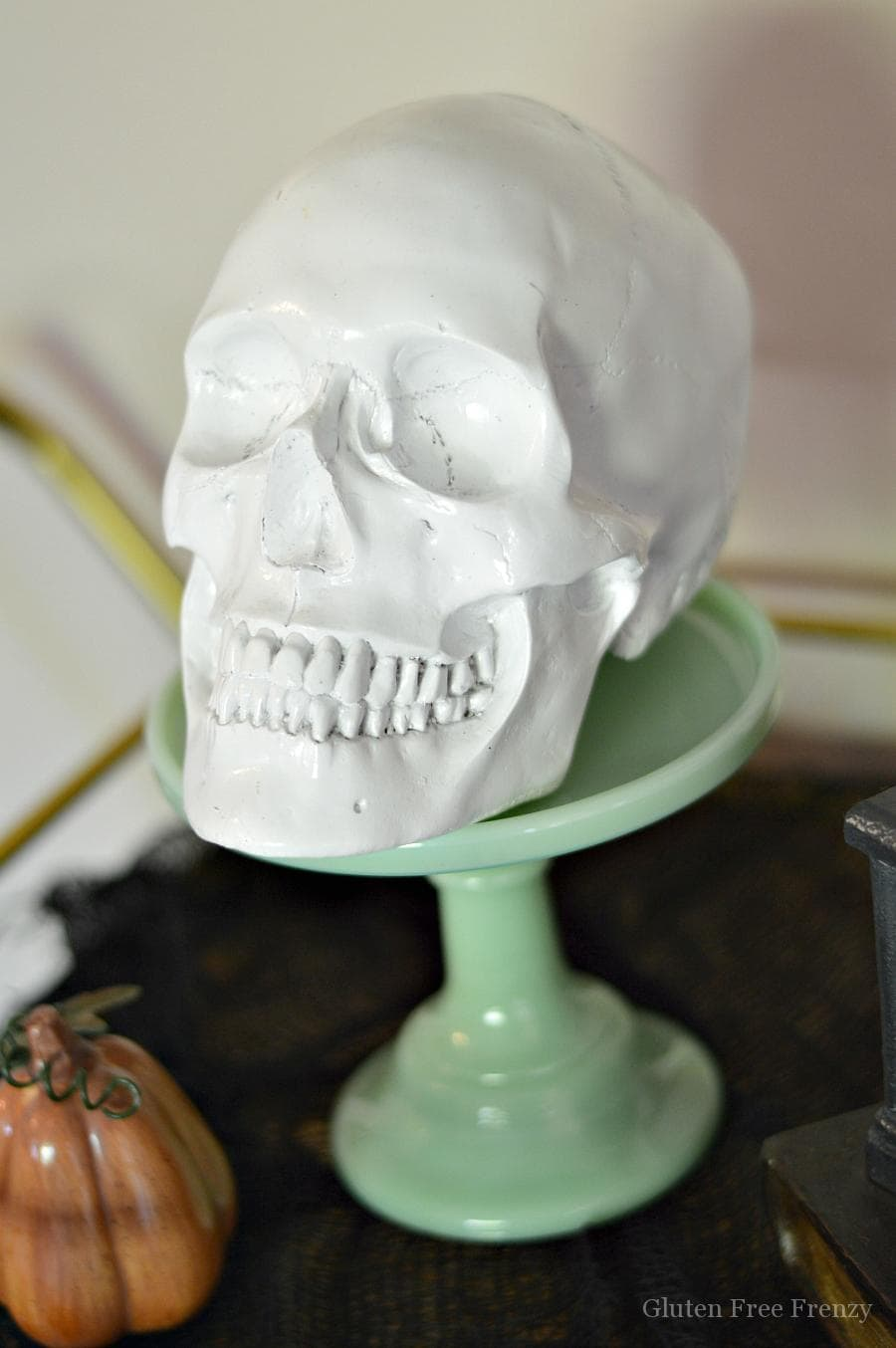 Diy Dollar Store Skull Halloween Decor My Life And Kids