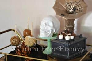 Halloween Styled Bar Cart & Treat Cart