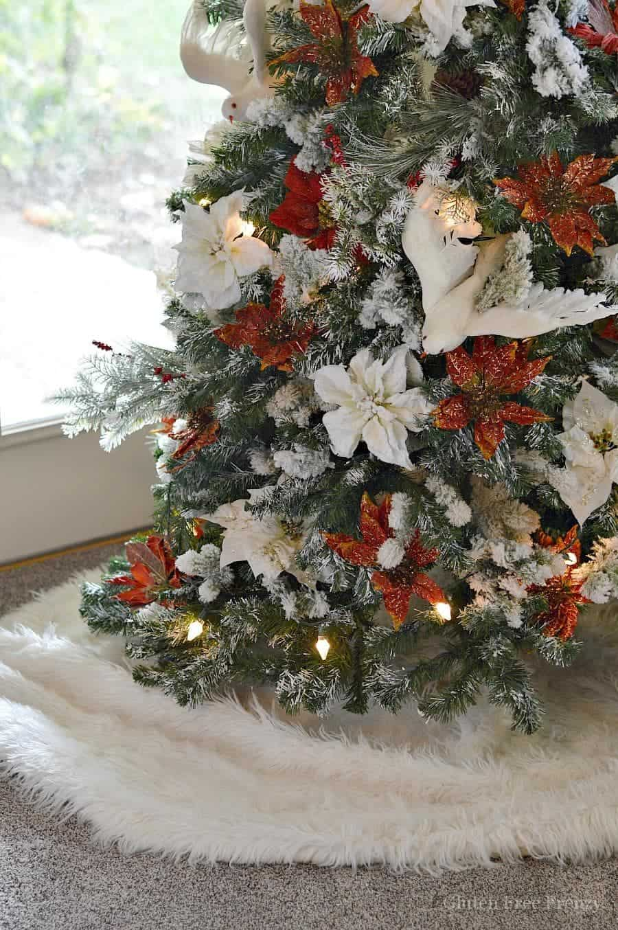 Doves For Sale >> Drab to Fab Christmas Tree that can be done on a dime
