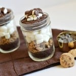 These chocolate marshmallow brownies in a jar are the perfect little treats. They are individually sized and full of rich, delicious chocolate. They are also top 8 allergen-free!