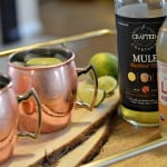 These moscow mule mocktails are family friendly. They are mocktails instead of cocktails so no alcohol but still all the great flavors of a traditional moscow mule.