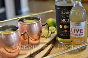 """""""Mock""""scow Mules (Moscow Mule Mocktail)"""