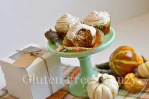 Gluten-Free Apple Cider Cupcakes