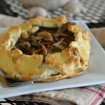 These green bean casserole galettes are divine! Our gluten-free Thanksgiving tablescape will wow all of your guests from both presentation to taste. Nobody would ever know it's all gluten-free! Let us show you how to play the perfect hostess this Thanksgiving. glutenfreefrenzy.com