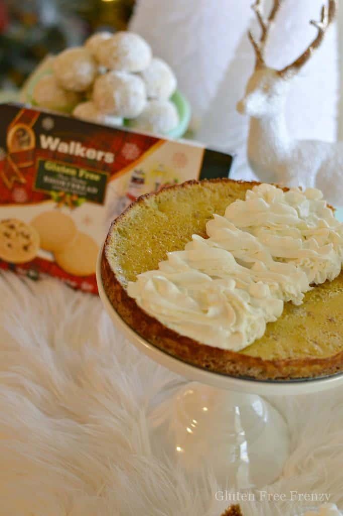 Eggnog Shortbread Quiche || This Vivacious Life