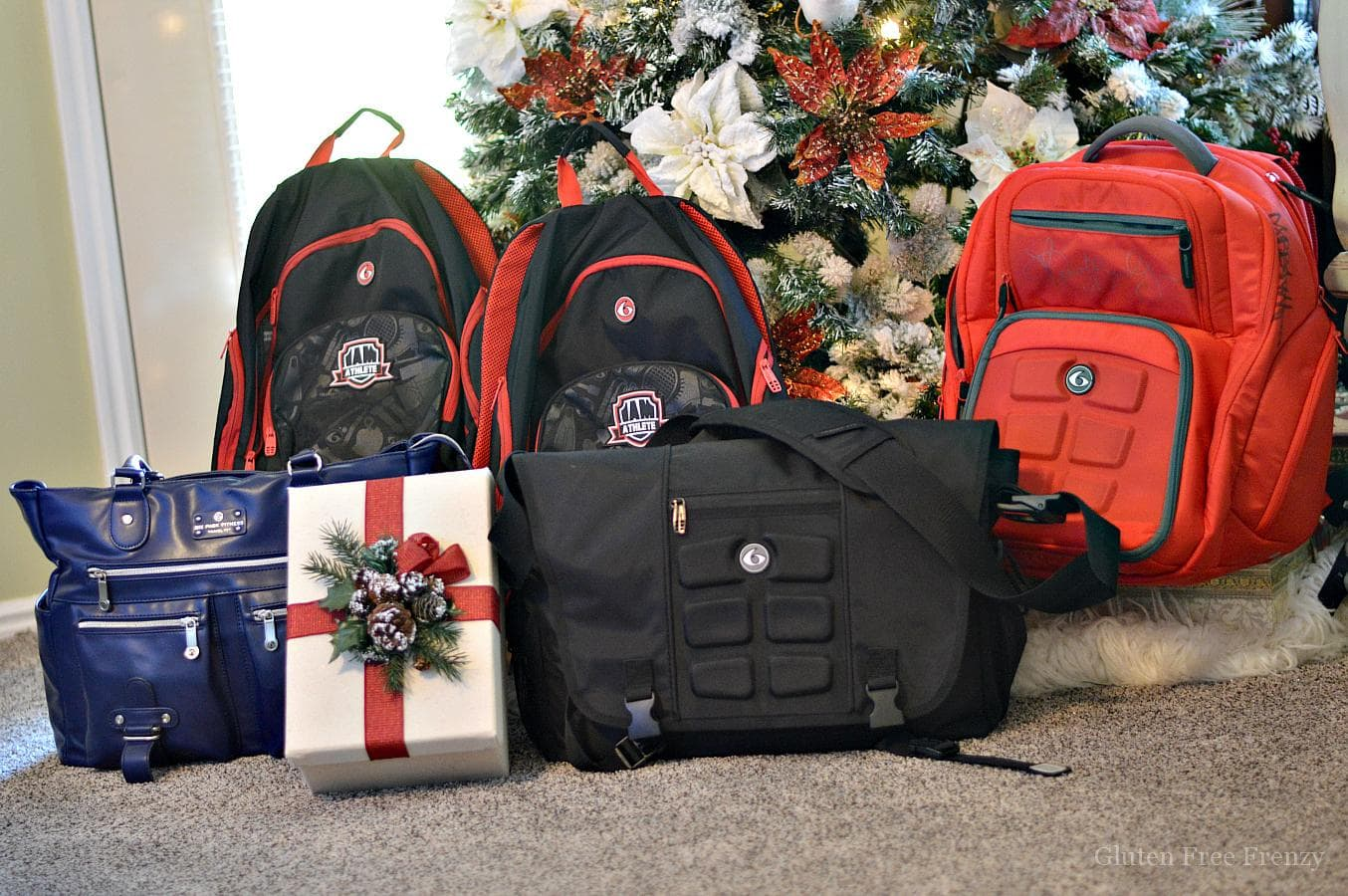 6 Pack Bags holiday gifts are great for all your fitness friends as well as those who live gluten-free. They are also great for family and friends who meal prep.