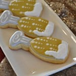 Decorated gluten-free sugar cookies from Enchanted Cookie Boutique are so darling and delicious! They are perfect for parties and gatherings.